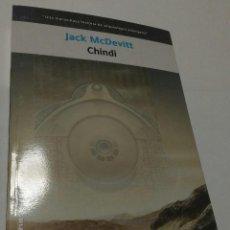 Libros antiguos: CHINDI DE JACK MCDEVITT , SOLARIS Nº 52 DE LA FACTORIA DE IDEAS. Lote 67550625