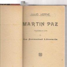 Libros antiguos: JULIO VERNE 5 OBRAS ,MARTIN PAZ/ UNA EXPERIENCIA DEL DR OX/ CINCO SEMANAS EN GLOBO DE ZANZIBAR AL . Lote 68153733