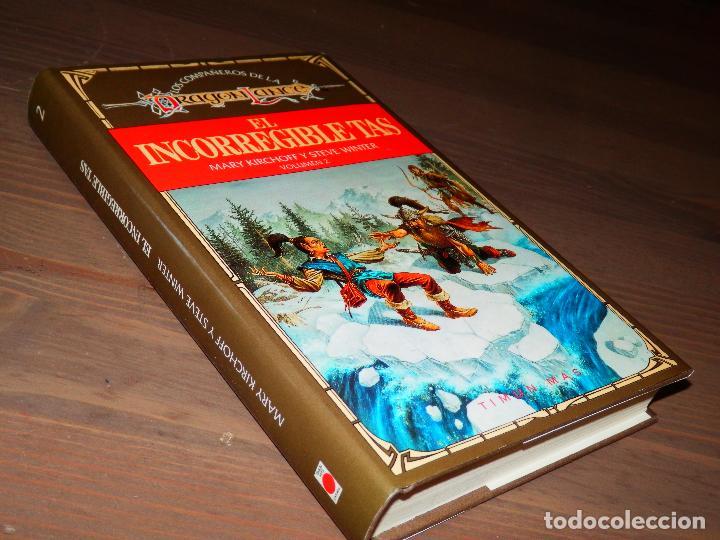 EL INCORREGIBLE TAS VOLUMEN 2 MARY KIRCHOFF STEVE WINTER LOS COMPAÑEROS DE LA DRAGON LANCE M (Libros antiguos (hasta 1936), raros y curiosos - Literatura - Narrativa - Ciencia Ficción y Fantasía)