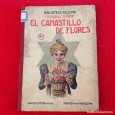 Libros antiguos: ÉL CANASTILLO DE FLORES, DE C. SCHMID, EDIC. RAMÓN SOPENA, NÚM. 49, BIBLIOTECA SELECTA, 78 PÁGINAS.. Lote 71719703