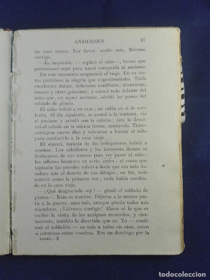 Libros antiguos: EL ANGEL - LA CASA VIEJA - LOS ZUECOS MARAVILLOSOS - ANDERSEN - BIBLIOTECA SELECTA - SOPENA - - Foto 3 - 75570639