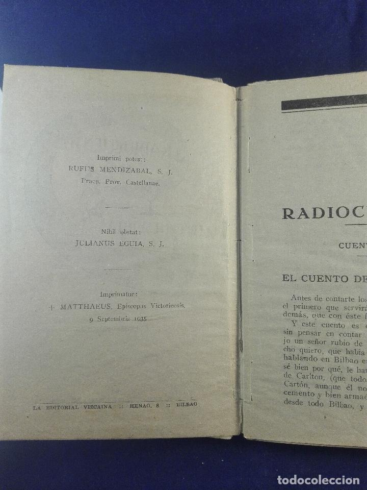Libros antiguos: RADIO CUENTOS - ERREVI ESEJOTA - EL MENSAJERO DEL CORAZÓN DE JESUS - BILBAO - 1935 - - Foto 2 - 75571415