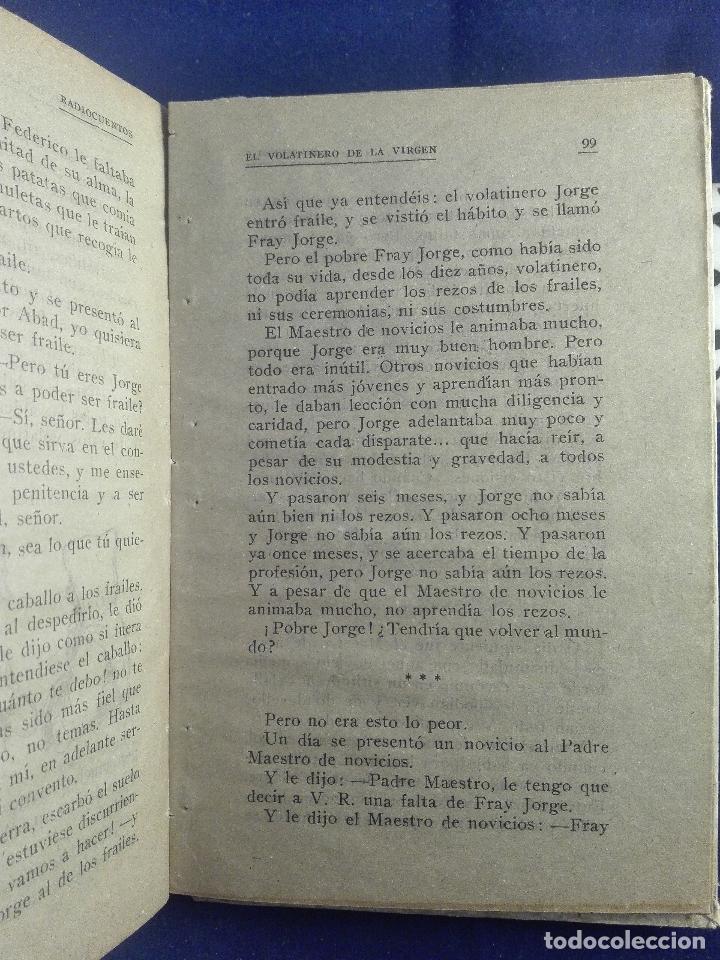 Libros antiguos: RADIO CUENTOS - ERREVI ESEJOTA - EL MENSAJERO DEL CORAZÓN DE JESUS - BILBAO - 1935 - - Foto 3 - 75571415