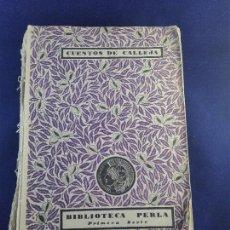 Libros antiguos: FABIOLA O LA IGLESIA DE LAS CATACUMBAS - NICOLAS WISEMAN - CUENTOS DE CALLEJA - BIBLIOTECA PERLA. Lote 75571675