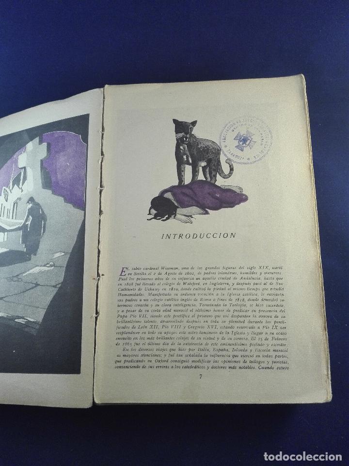 Libros antiguos: FABIOLA O LA IGLESIA DE LAS CATACUMBAS - NICOLAS WISEMAN - CUENTOS DE CALLEJA - BIBLIOTECA PERLA - Foto 7 - 75571675