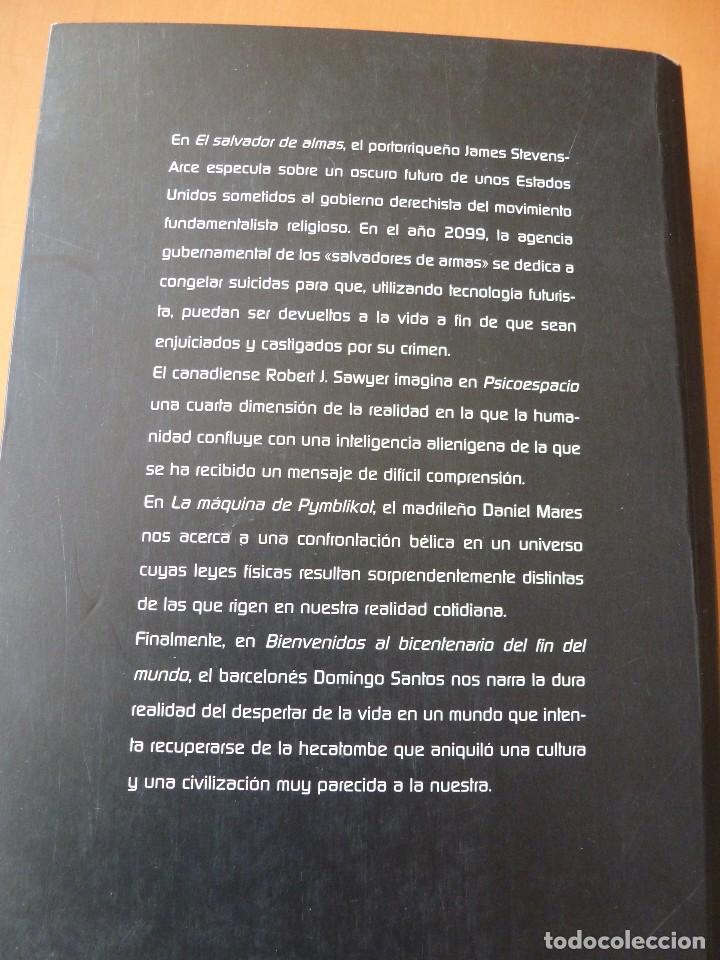 Libros antiguos: PREMIO UPC 1997. CIENCIA FICCIÓN. EDICIONES B, COLECCIÓN NOVA Nº 112 - Foto 2 - 75644391
