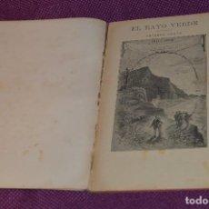 Libros antiguos: VINTAGE - ANTIGUO LIBRO - JULIO VERNE - SAENZ DE JUBERA - EL RAYO VERDE, I Y II PARTE - AÑOS 30. Lote 86128784