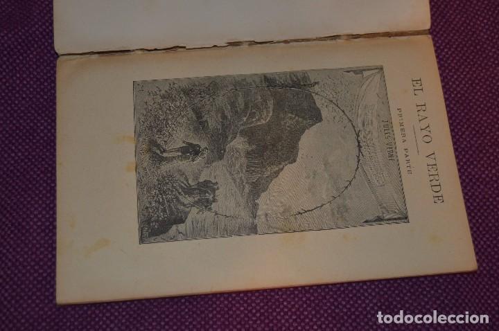Libros antiguos: VINTAGE - ANTIGUO LIBRO - JULIO VERNE - SAENZ DE JUBERA - EL RAYO VERDE, I Y II PARTE - AÑOS 30 - Foto 2 - 86128784