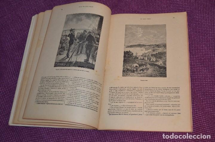 Libros antiguos: VINTAGE - ANTIGUO LIBRO - JULIO VERNE - SAENZ DE JUBERA - EL RAYO VERDE, I Y II PARTE - AÑOS 30 - Foto 6 - 86128784