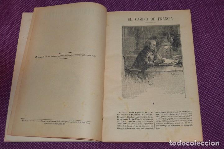 Libros antiguos: VINTAGE - ANTIGUO LIBRO - JULIO VERNE - SAENZ DE JUBERA - EL CAMINO DE FRANCIA, 1ª Y 2ª PARTE - 30s - Foto 3 - 81709908