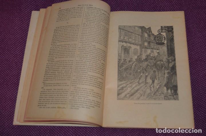 Libros antiguos: VINTAGE - ANTIGUO LIBRO - JULIO VERNE - SAENZ DE JUBERA - EL CAMINO DE FRANCIA, 1ª Y 2ª PARTE - 30s - Foto 4 - 81709908