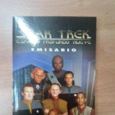 Libros antiguos: STAR TREK. ESPACIO PROFUNDO NUEVE. EMISARIO. Lote 98108359
