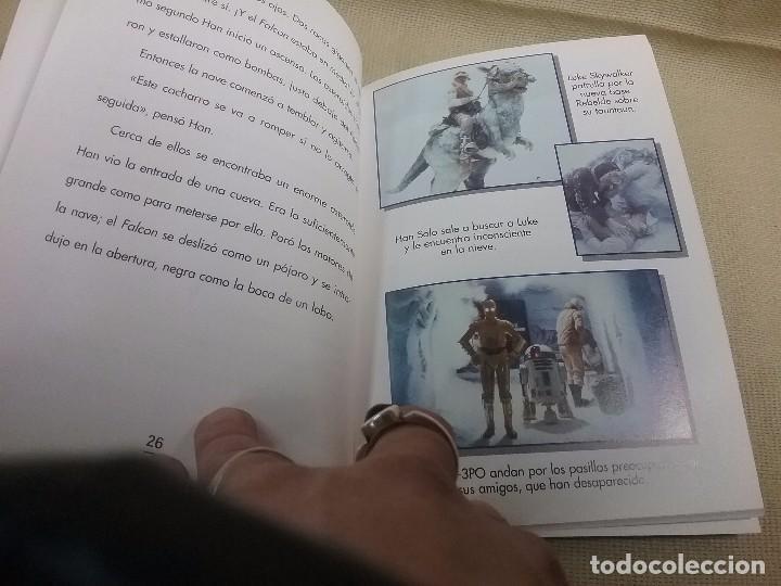 Libros antiguos: LIBRO STAR WARS - EPISODIO V - EL IMPERIO CONTRAATACA - EDICIONES GAVIOTA - Foto 2 - 85729248