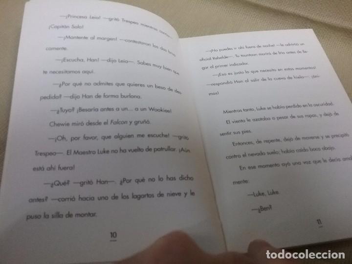Libros antiguos: LIBRO STAR WARS - EPISODIO V - EL IMPERIO CONTRAATACA - EDICIONES GAVIOTA - Foto 3 - 85729248