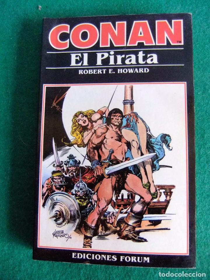CONAN EL PIRATA Nº 3 ROBERT E. HOWARD EDICIONES FORUM Nº3 AÑO 1983 (Libros antiguos (hasta 1936), raros y curiosos - Literatura - Narrativa - Ciencia Ficción y Fantasía)