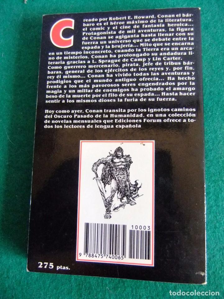 Libros antiguos: CONAN EL PIRATA Nº 3 ROBERT E. HOWARD EDICIONES FORUM nº3 año 1983 - Foto 2 - 86295080