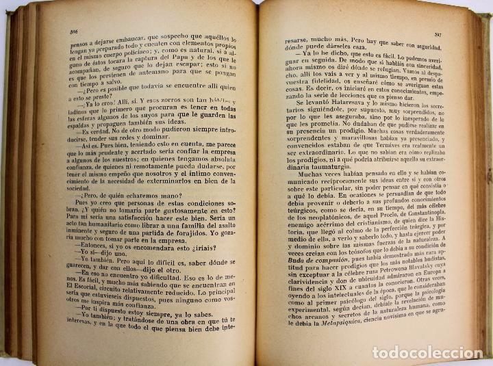 Libros antiguos: L-3569.LOS ÚLTIMOS CAPÍTULOS DE LA HISTORIA. E.J.J. SÁNCHEZ RUBIO. 2 TOMOS. BARCELONA 1930. - Foto 5 - 86365996