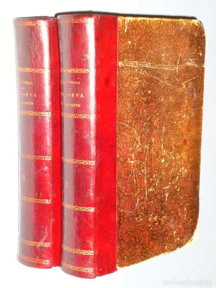 GENOVEVA DE BRABANTE. LEYENDA HISTÓRICA. 2 TOMOS (Libros antiguos (hasta 1936), raros y curiosos - Literatura - Narrativa - Ciencia Ficción y Fantasía)