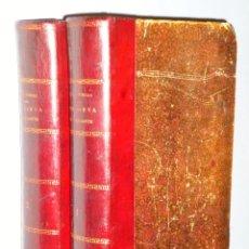 Libros antiguos: GENOVEVA DE BRABANTE. LEYENDA HISTÓRICA. 2 TOMOS. Lote 86491760
