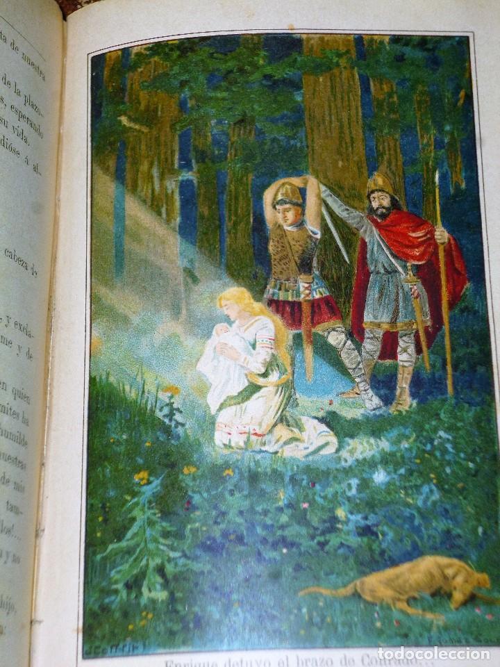 Libros antiguos: GENOVEVA DE BRABANTE. LEYENDA HISTÓRICA. 2 tomos - Foto 5 - 86491760