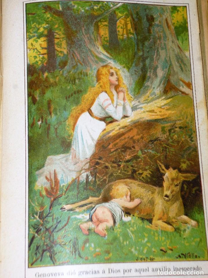 Libros antiguos: GENOVEVA DE BRABANTE. LEYENDA HISTÓRICA. 2 tomos - Foto 6 - 86491760