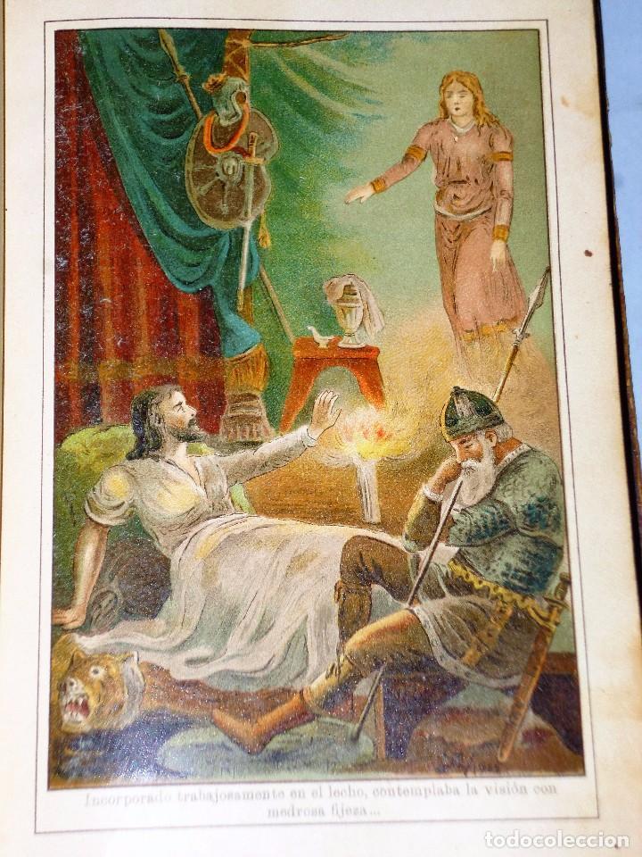 Libros antiguos: GENOVEVA DE BRABANTE. LEYENDA HISTÓRICA. 2 tomos - Foto 8 - 86491760