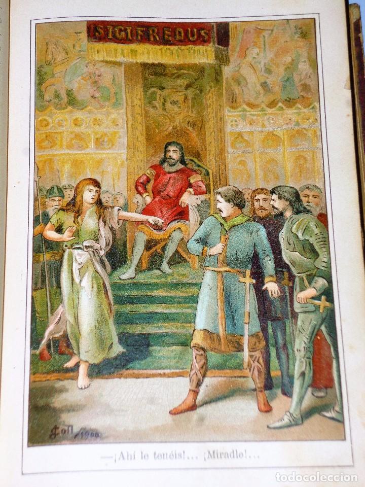 Libros antiguos: GENOVEVA DE BRABANTE. LEYENDA HISTÓRICA. 2 tomos - Foto 9 - 86491760
