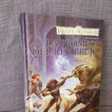 Libros antiguos: REINOS OLVIDADOS TIMUN MÁS LA PROMESA DEL REY BRUJO. Lote 87423068