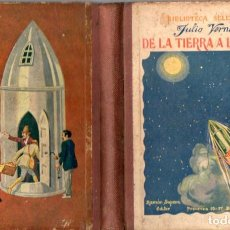 Libros antiguos: JULIO VERNE : DE LA TIERRA A LA LUNA (SELECTA SOPENA, 1935). Lote 87708195