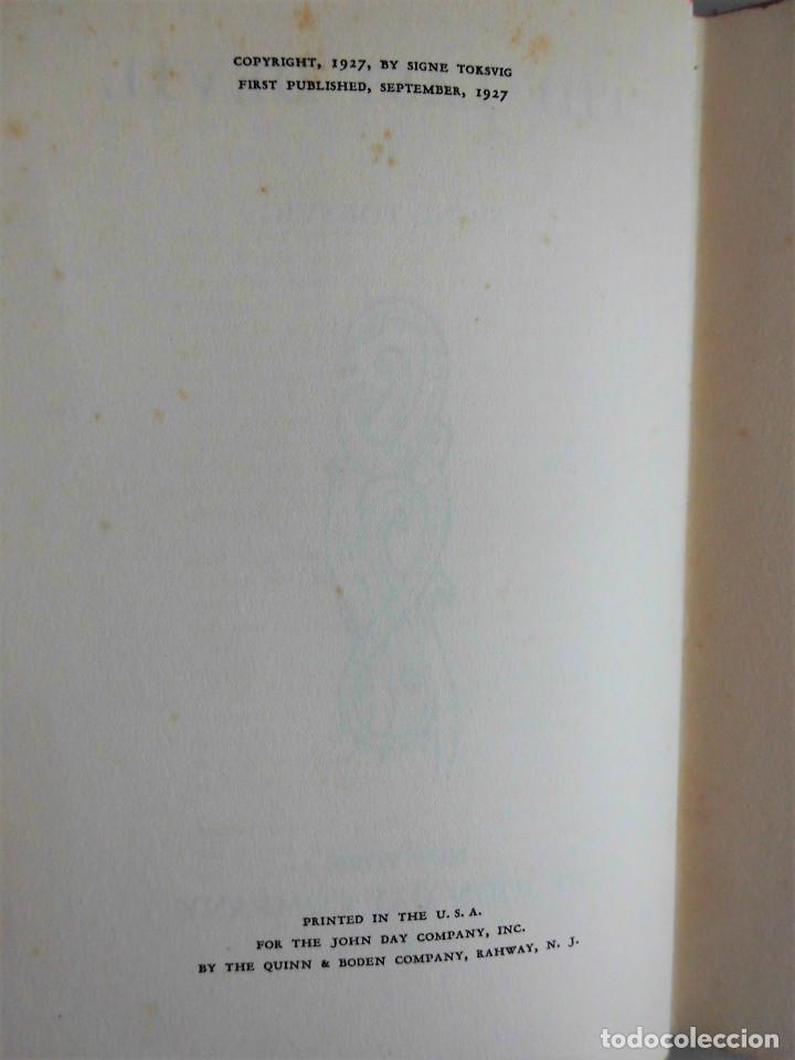 Libros antiguos: PRIMERA EDICIÓN (AÑO 1927): THE LAST DEVIL - SIGNE TOKSVIG - Foto 3 - 89867160