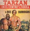 Libros antiguos: EDGAR RICE BORROUGHS : TARZÁN EN EL CENTRO DE LA TIERRA (NOVELA AZUL 1936). Lote 90144124