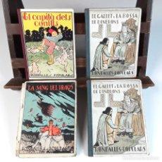 Libros antiguos: RONDALLES POPULARS. 4 VOLÚMENES. VALERI SERRA. EDITORIAL POLÍGLOTA. 1930/1933.. Lote 90608825