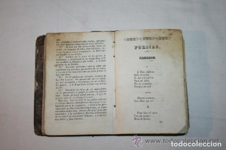 Libros antiguos: 0903 - HISTORIA SAGRADA PROVERBIOS Ó PARABOLAS FÁBULAS DE FELIX MARIA DE SAMANIEGO. - Foto 12 - 91795304