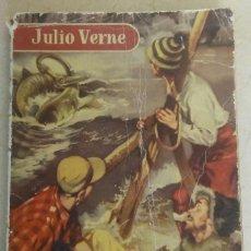 Libros antiguos: UN VIAJE AL CENTRO DE LA TIERRA JULIO VERNE 1ª EDICION AÑO 1.954. Lote 92231065