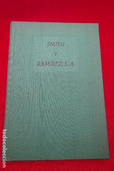 SMITH Y RAMÍREZ - ALONSO ZAMORA VICENTE - VALENCIA - EDIT. CASTALIA - 1957 - FIRMADO POR EL AUTOR - (Libros antiguos (hasta 1936), raros y curiosos - Literatura - Narrativa - Ciencia Ficción y Fantasía)