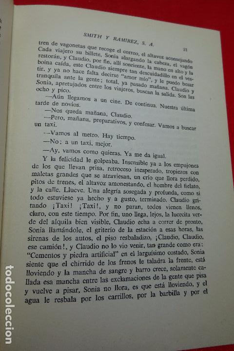 Libros antiguos: SMITH Y RAMÍREZ - ALONSO ZAMORA VICENTE - VALENCIA - EDIT. CASTALIA - 1957 - FIRMADO POR EL AUTOR - - Foto 3 - 94597403