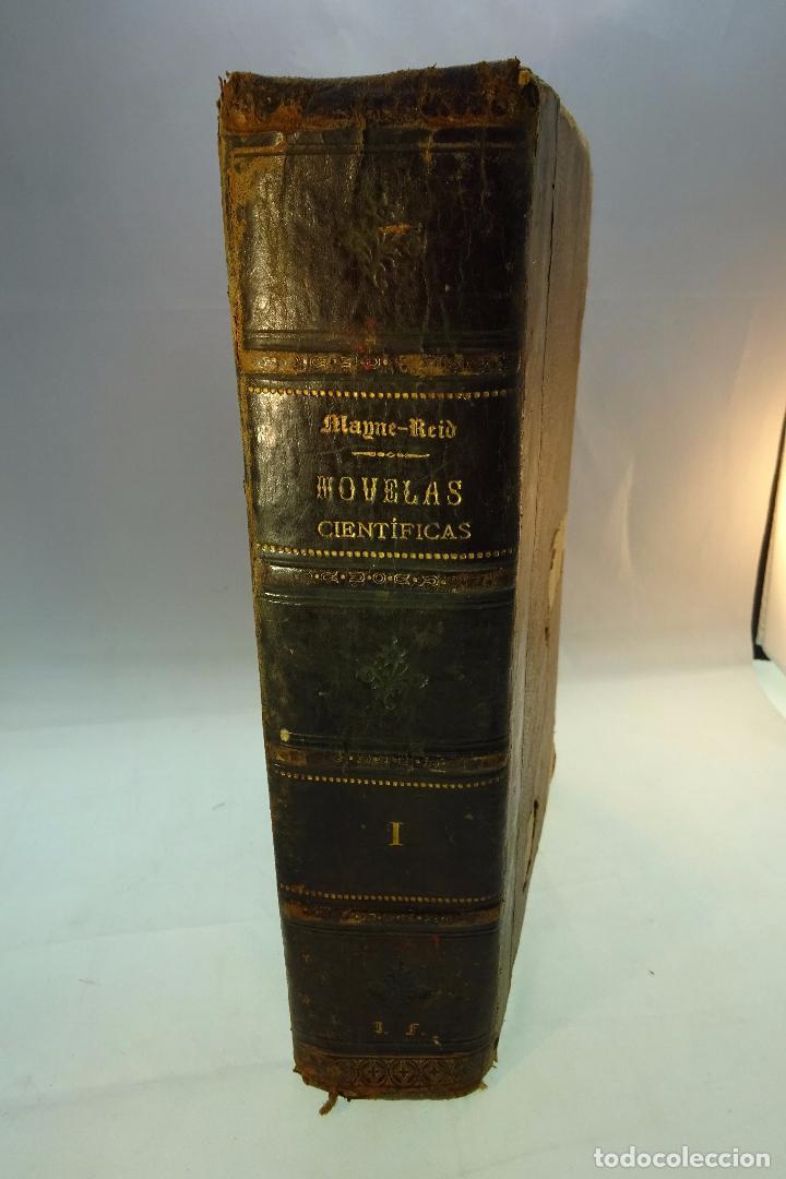 NOVELAS CIENTÍFICAS - TOMO I - MAYNE-REID - COLECCIÓN DE 16 NOVELAS DE FICCIÓN - 1870 - MADRID - (Libros antiguos (hasta 1936), raros y curiosos - Literatura - Narrativa - Ciencia Ficción y Fantasía)