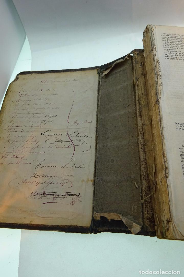 Libros antiguos: NOVELAS CIENTÍFICAS - TOMO I - MAYNE-REID - COLECCIÓN DE 16 NOVELAS DE FICCIÓN - 1870 - MADRID - - Foto 3 - 95165103