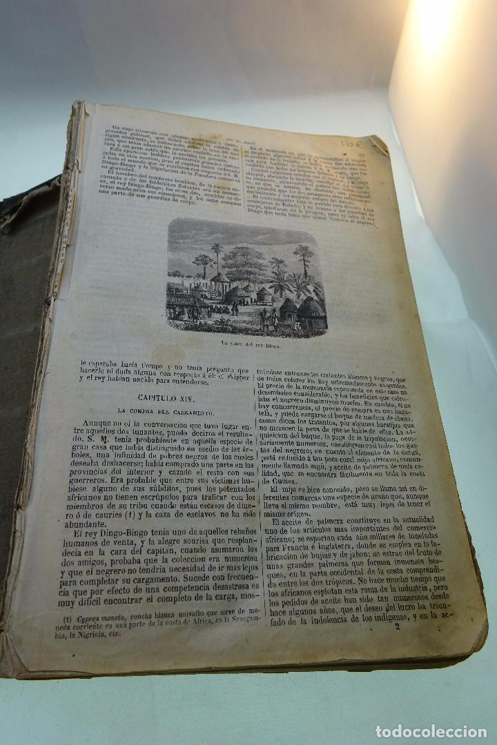 Libros antiguos: NOVELAS CIENTÍFICAS - TOMO I - MAYNE-REID - COLECCIÓN DE 16 NOVELAS DE FICCIÓN - 1870 - MADRID - - Foto 4 - 95165103
