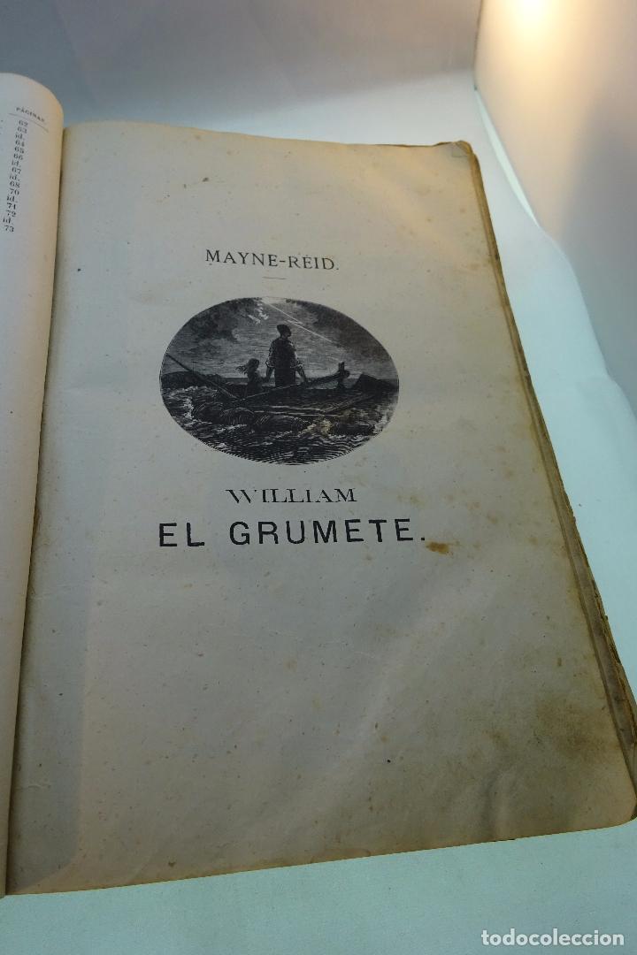 Libros antiguos: NOVELAS CIENTÍFICAS - TOMO I - MAYNE-REID - COLECCIÓN DE 16 NOVELAS DE FICCIÓN - 1870 - MADRID - - Foto 5 - 95165103