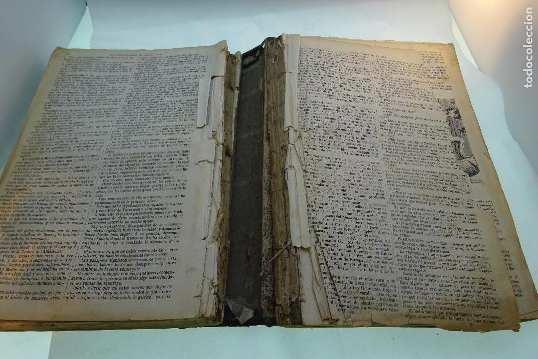 Libros antiguos: NOVELAS CIENTÍFICAS - TOMO I - MAYNE-REID - COLECCIÓN DE 16 NOVELAS DE FICCIÓN - 1870 - MADRID - - Foto 8 - 95165103