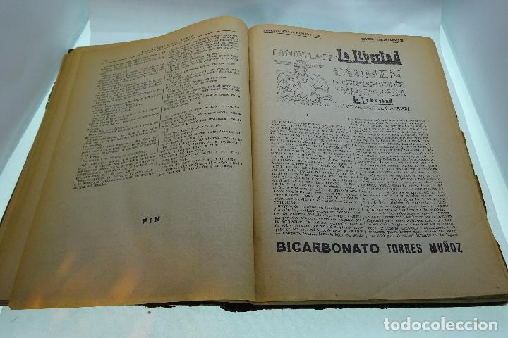 Libros antiguos: LA NOVELA DE LA LIBERTAD - EMILIO ERCKMANN Y ALEJANDRO CHATRAIN - TOMO I - AÑOS 20 - - Foto 4 - 95165591