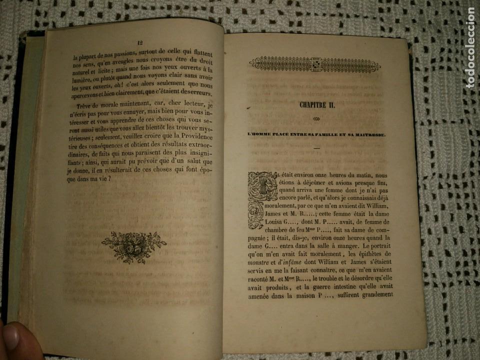 Libros antiguos: Les habitants du monde invisible ou les purs esprits, les anges déchus et les possédés. (1850) - Foto 3 - 95229711
