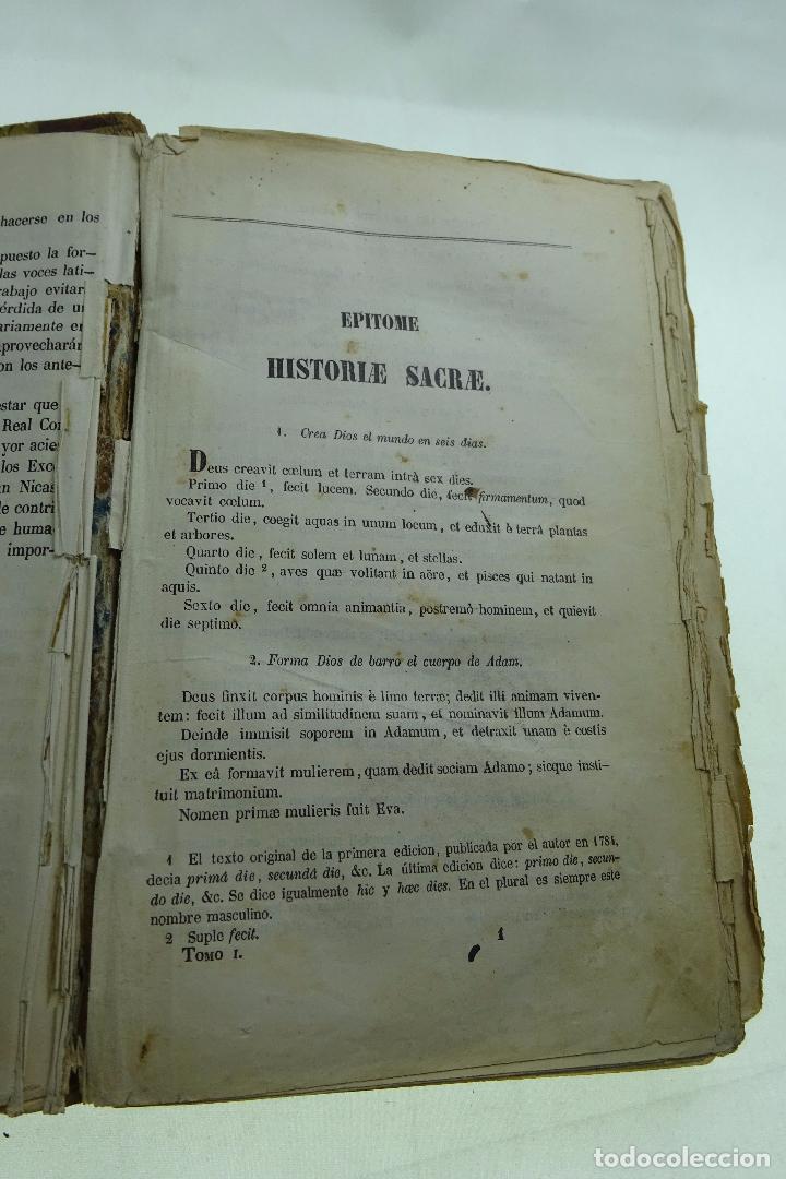 Libros antiguos: COLECCION DE AUTORES SELECTOS, LATINOS Y CASTELLANOS - TOMO I - EN LATÍN - MADRID - 1851 - - Foto 4 - 95430439