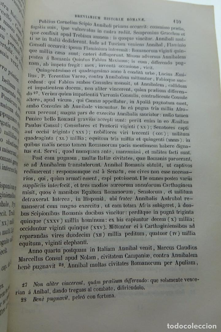 Libros antiguos: COLECCION DE AUTORES SELECTOS, LATINOS Y CASTELLANOS - TOMO I - EN LATÍN - MADRID - 1851 - - Foto 5 - 95430439