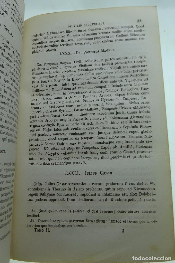 Libros antiguos: COLECCION DE AUTORES SELECTOS, LATINOS Y CASTELLANOS - TOMO II - EN CASTELLANO - MADRID - 1851 - - Foto 5 - 95430519