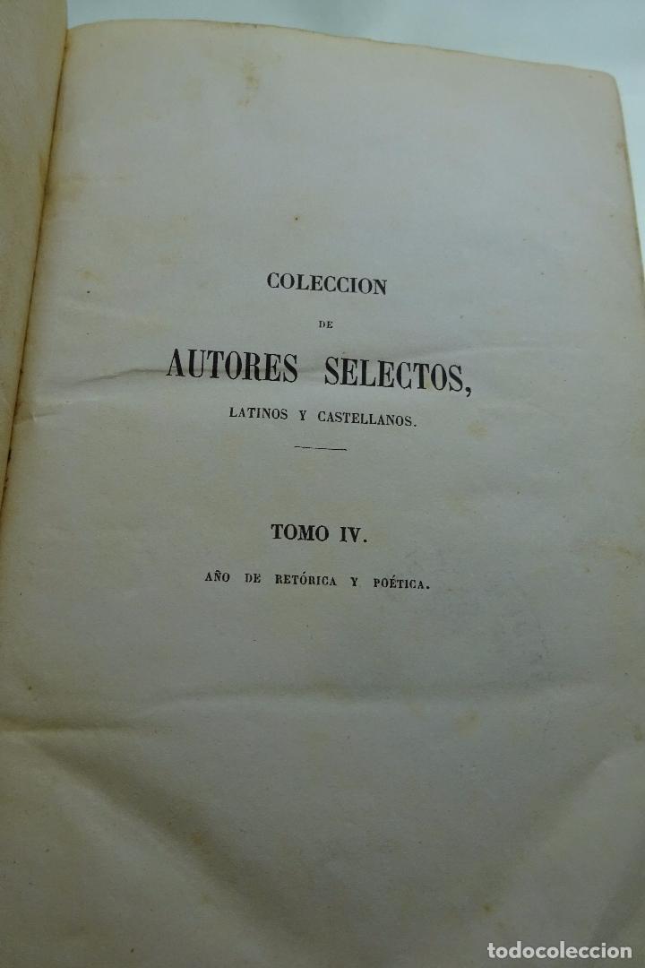 Libros antiguos: COLECCION DE AUTORES SELECTOS, LATINOS Y CASTELLANOS - TOMO IV - EN LATÍN - MADRID - 1849 - - Foto 2 - 95430595