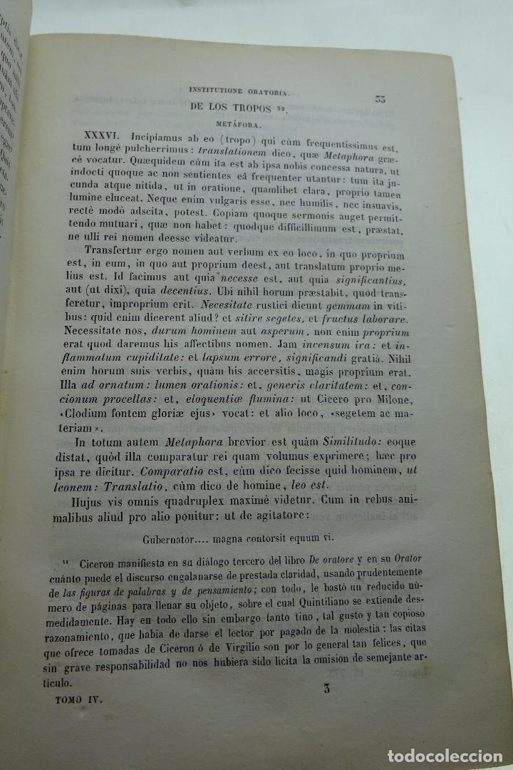 Libros antiguos: COLECCION DE AUTORES SELECTOS, LATINOS Y CASTELLANOS - TOMO IV - EN LATÍN - MADRID - 1849 - - Foto 4 - 95430595