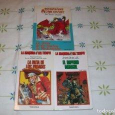 Libros antiguos: LOTE DE 3 LIBROS LA MAQUINA DEL TIEMPO Y DUNGEONS & DRAGONS. TIMUN MAS. AÑOS OCHENTA.. Lote 95500475
