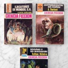 Libros antiguos: LA CONQUISTA DEL ESPACIO - NºS 290-543-719 - CURTIS GARLAND, A THORKENT, KELLTOM MCINTIRE - BRUGUERA. Lote 96174775